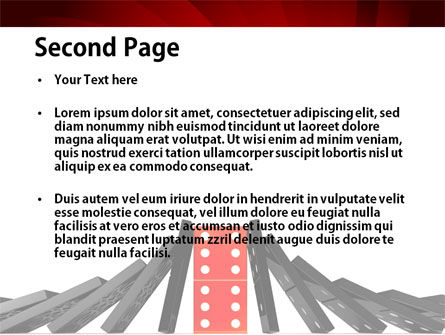 Central Domino PowerPoint Template, Slide 2, 08336, Consulting — PoweredTemplate.com