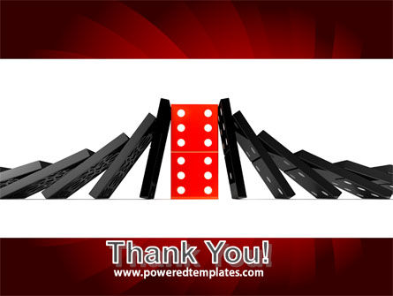Central Domino PowerPoint Template Slide 20
