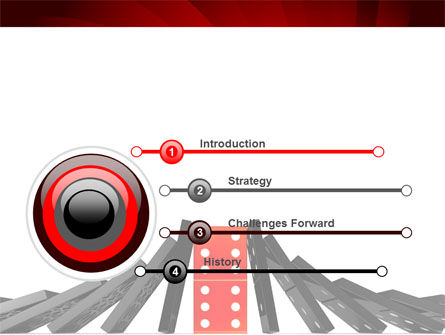Central Domino PowerPoint Template, Slide 3, 08336, Consulting — PoweredTemplate.com