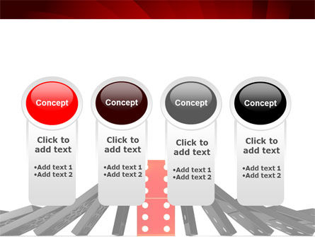 Central Domino PowerPoint Template Slide 5