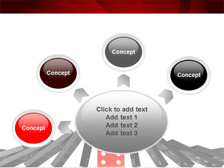 Central Domino PowerPoint Template Slide 7