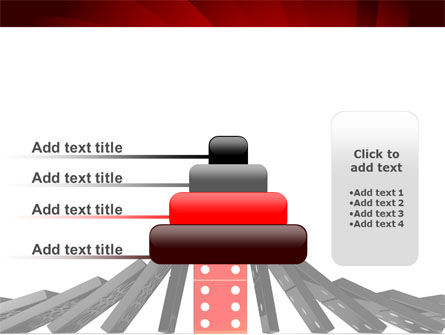 Central Domino PowerPoint Template Slide 8