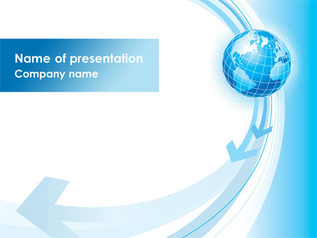 Global Changes PowerPoint Template, 08337, Global — PoweredTemplate.com