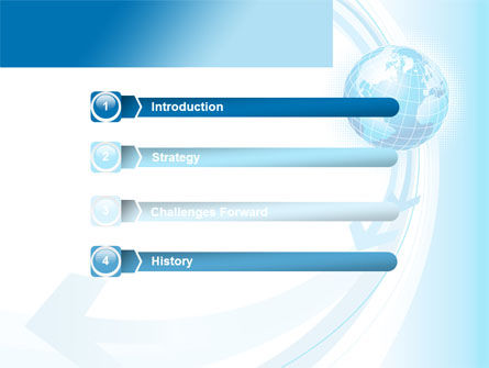 Global Changes PowerPoint Template, Slide 3, 08337, Global — PoweredTemplate.com