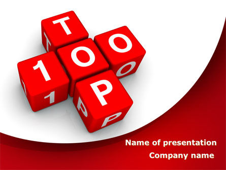 Top 100 PowerPoint Template
