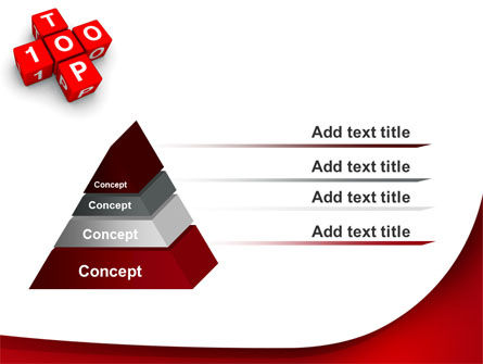 Top 100 PowerPoint Template Slide 12