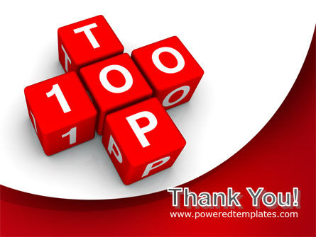 Top 100 PowerPoint Template Slide 20