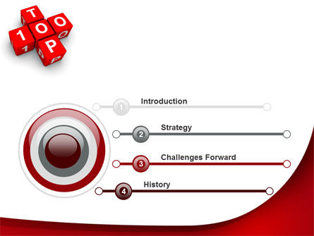 Top 100 PowerPoint Template Slide 3