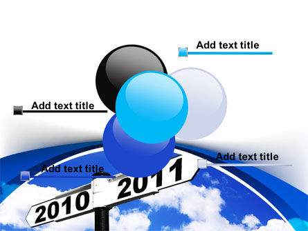 From 2010 to 2011 PowerPoint Template Slide 10