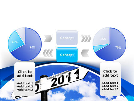 From 2010 to 2011 PowerPoint Template Slide 11