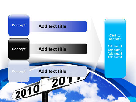 From 2010 to 2011 PowerPoint Template Slide 12