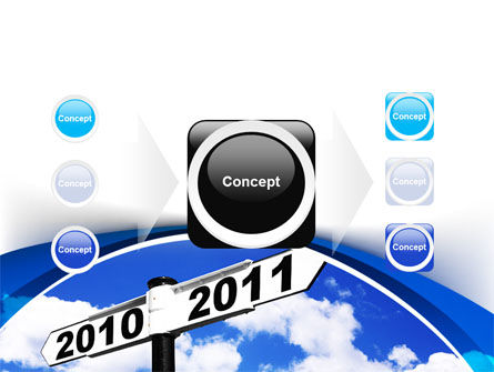 From 2010 to 2011 PowerPoint Template Slide 17