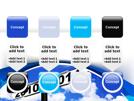 From 2010 to 2011 PowerPoint Template Slide 18