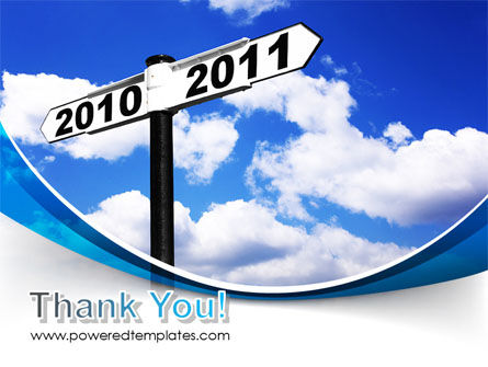 From 2010 to 2011 PowerPoint Template Slide 20