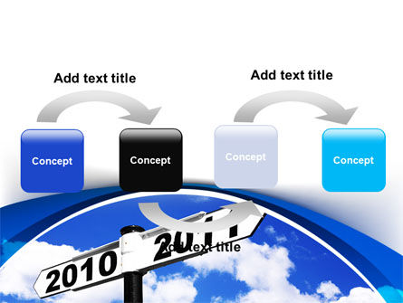 From 2010 to 2011 PowerPoint Template, Slide 4, 08339, Business Concepts — PoweredTemplate.com