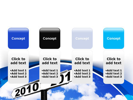 From 2010 to 2011 PowerPoint Template Slide 5