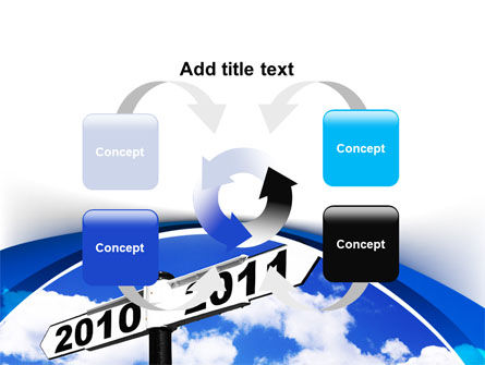 From 2010 to 2011 PowerPoint Template Slide 6