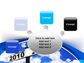 From 2010 to 2011 PowerPoint Template#7