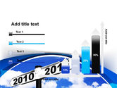 From 2010 to 2011 PowerPoint Template#8
