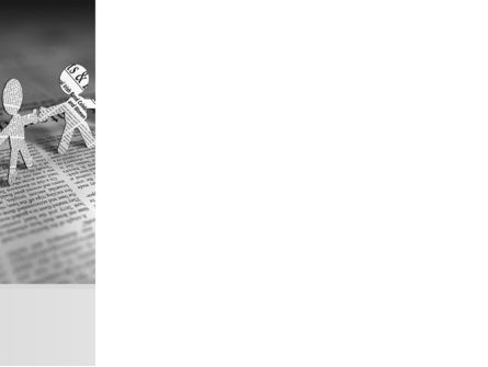 Paper People PowerPoint Template, Slide 3, 08341, Religious/Spiritual — PoweredTemplate.com