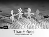 Paper People PowerPoint Template#20