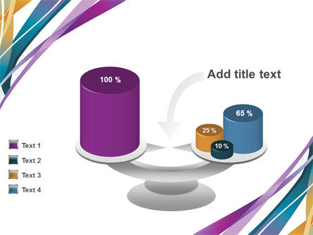 Color Ribbons PowerPoint Template Slide 10