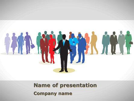 People: Templat PowerPoint Keanekaragaman Orang #08344