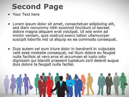 People Diversity PowerPoint Template, Slide 2, 08344, People — PoweredTemplate.com