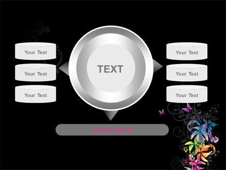 Fancy Design Flowers PowerPoint Template Slide 12