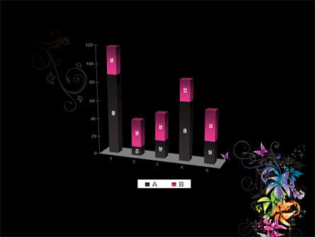 Fancy Design Flowers PowerPoint Template Slide 17
