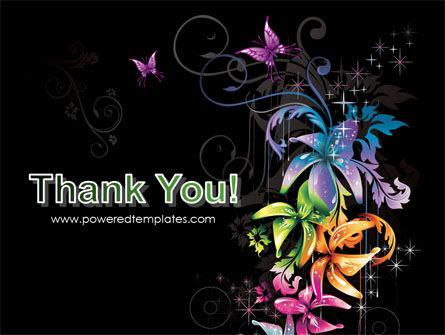 Fancy Design Flowers PowerPoint Template Slide 20