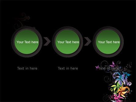 Fancy Design Flowers PowerPoint Template Slide 5