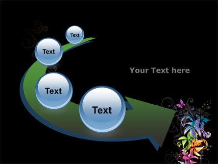Fancy Design Flowers PowerPoint Template Slide 6