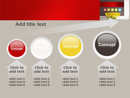Yellow Couch PowerPoint Template Slide 13