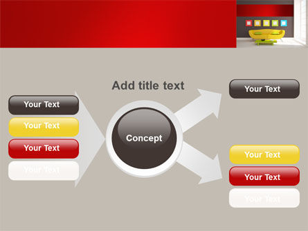 Yellow Couch PowerPoint Template Slide 14