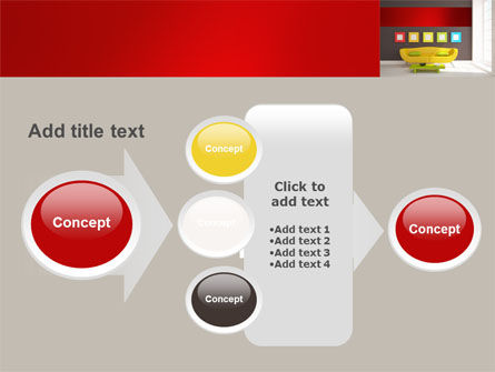 Yellow Couch PowerPoint Template Slide 17