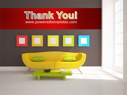 Yellow Couch PowerPoint Template Slide 20