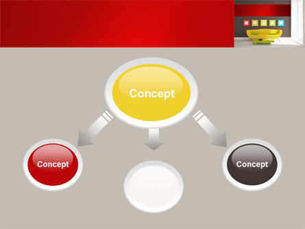 Yellow Couch PowerPoint Template, Slide 4, 08350, Careers/Industry — PoweredTemplate.com