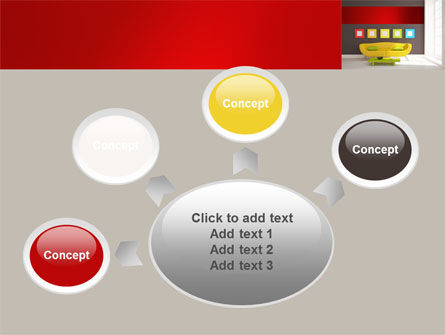 Yellow Couch PowerPoint Template Slide 7