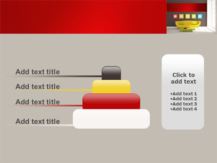 Yellow Couch PowerPoint Template Slide 8