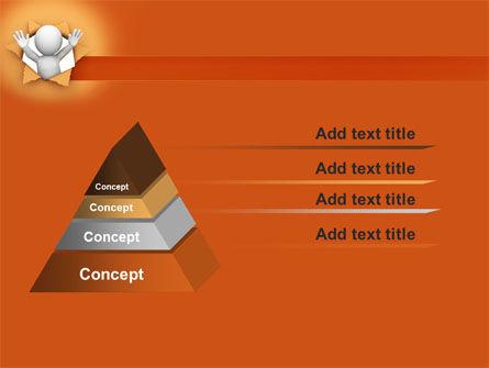 Breaking Through PowerPoint Template Slide 12