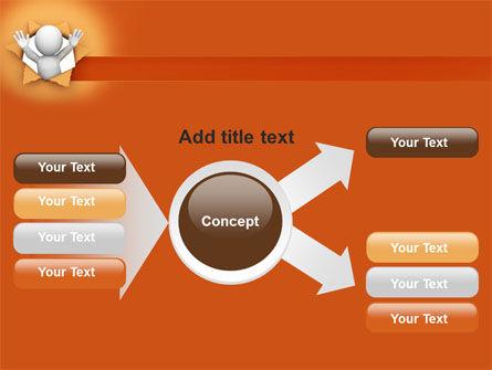 Breaking Through PowerPoint Template Slide 14