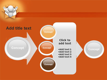Breaking Through PowerPoint Template Slide 17