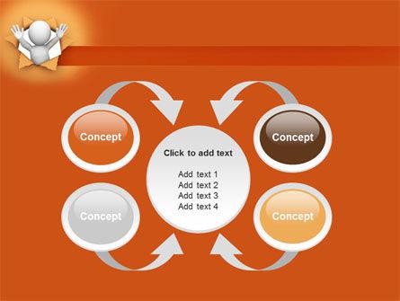 Breaking Through PowerPoint Template Slide 6