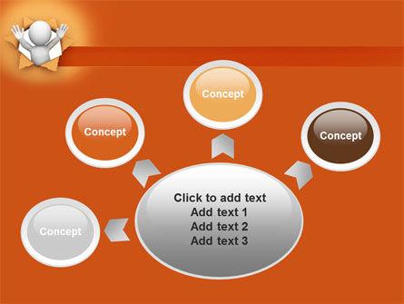 Breaking Through PowerPoint Template Slide 7