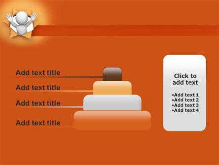 Breaking Through PowerPoint Template Slide 8