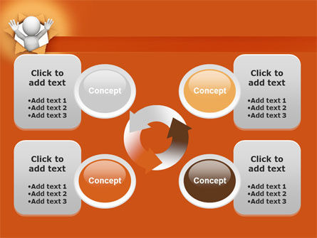 Breaking Through PowerPoint Template Slide 9