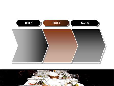Banquet Table PowerPoint Template Slide 16