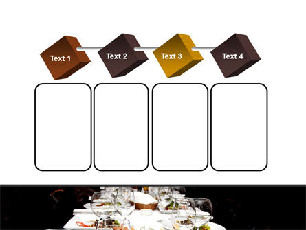 Banquet Table PowerPoint Template Slide 18
