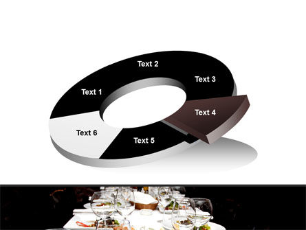 Banquet Table PowerPoint Template Slide 19
